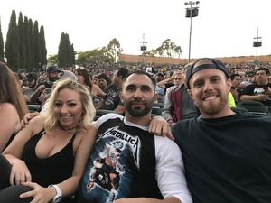 Justin attended Korn With Special Guest Stone Sour - the Serenity of Summer - Reserved on Jun 20th 2017 via VetTix