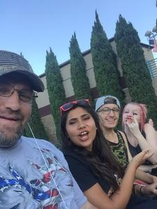 Franciszek attended Korn With Special Guest Stone Sour - the Serenity of Summer - Reserved on Jun 20th 2017 via VetTix