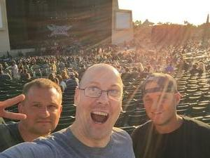 Paul attended Korn With Special Guest Stone Sour - the Serenity of Summer - Reserved on Jun 20th 2017 via VetTix