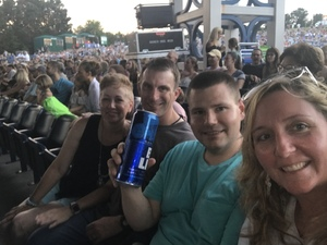 Thomas attended Lady Antebellum You Look Good World Tour With Special Guest Kelsea Ballerini, and Brett Young - Reserved Seats on Jun 15th 2017 via VetTix