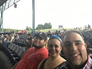 Ernesto Gonzalez attended Lady Antebellum You Look Good World Tour With Special Guest Kelsea Ballerini, and Brett Young - Reserved Seats on Jun 17th 2017 via VetTix