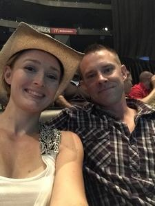 DANIEL attended Soul2Soul Tour With Tim McGraw and Faith Hill on Jul 14th 2017 via VetTix