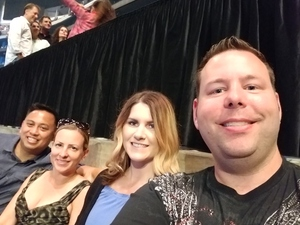 David attended Soul2Soul Tour With Tim McGraw and Faith Hill on Jul 14th 2017 via VetTix