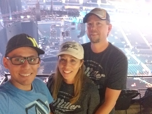 David attended Soul2Soul With Tim McGraw and Faith Hill on Jul 31st 2017 via VetTix