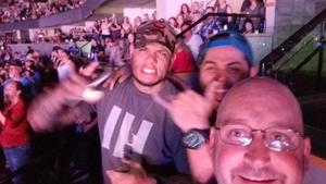 Brandon attended Soul2Soul With Tim McGraw and Faith Hill on Jul 31st 2017 via VetTix