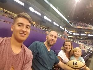 Michael attended Arizona Rattlers vs. Nebraska Danger - IFL Playoffs on Jun 24th 2017 via VetTix