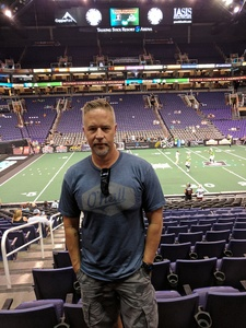 Austin attended Arizona Rattlers vs. Nebraska Danger - IFL Playoffs on Jun 24th 2017 via VetTix