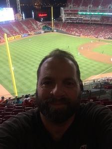 Brian attended Cincinnati Reds vs. Milwaukee Brewers - MLB on Jun 29th 2017 via VetTix
