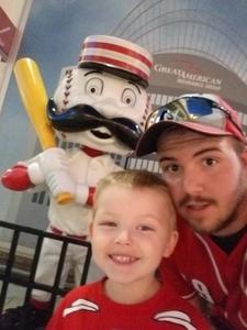 robbie attended Cincinnati Reds vs. Milwaukee Brewers - MLB on Jun 29th 2017 via VetTix