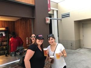 Melanie attended Cincinnati Reds vs. Milwaukee Brewers - MLB on Jun 29th 2017 via VetTix