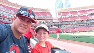 Cris attended Cincinnati Reds vs. Milwaukee Brewers - MLB on Jun 29th 2017 via VetTix