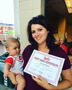 Nicole Gilbert attended Cincinnati Reds vs. Milwaukee Brewers - MLB on Jun 29th 2017 via VetTix