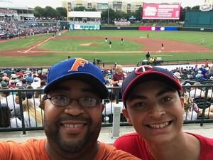 Joel attended Frisco Rough Riders Texas League All Star Game on Jun 27th 2017 via VetTix