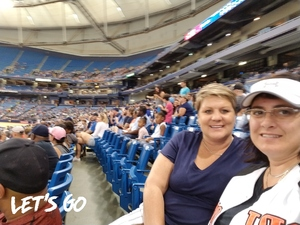 Joey Rubin attended Tampa Bay Rays vs. Baltimore Orioles - MLB - Lower Level Seating on Jul 25th 2017 via VetTix