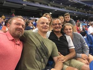 Gennaro attended Tampa Bay Rays vs. Baltimore Orioles - MLB - Lower Level Seating on Jul 25th 2017 via VetTix