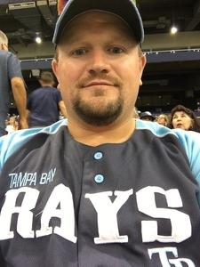 Cory attended Tampa Bay Rays vs. Baltimore Orioles - MLB - Lower Level Seating on Jul 25th 2017 via VetTix