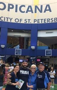 Mark attended Tampa Bay Rays vs. Baltimore Orioles - MLB - Lower Level Seating on Jul 25th 2017 via VetTix