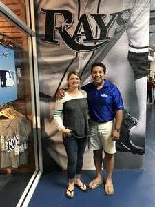 Robert attended Tampa Bay Rays vs. Baltimore Orioles - MLB - Lower Level Seating on Jul 25th 2017 via VetTix