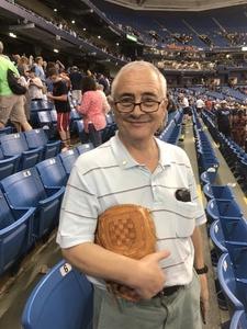 Alan attended Tampa Bay Rays vs. Baltimore Orioles - MLB - Lower Level Seating on Jul 25th 2017 via VetTix
