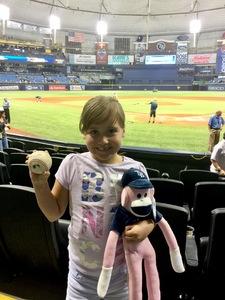 Javier attended Tampa Bay Rays vs. Baltimore Orioles - MLB - Lower Level Seating on Jul 25th 2017 via VetTix