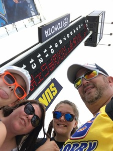 Kevin G attended Coke Zero 400 Powered by Coca Cola - Monster Energy NASCAR Cup Series on Jul 1st 2017 via VetTix
