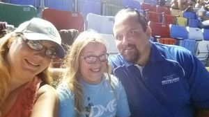 Dave attended Coke Zero 400 Powered by Coca Cola - Monster Energy NASCAR Cup Series on Jul 1st 2017 via VetTix