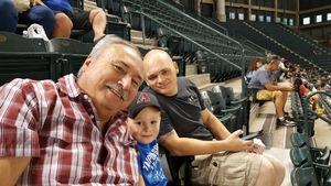 Owen attended Arizona Diamondbacks vs. Los Angeles Dodgers - MLB on Aug 8th 2017 via VetTix