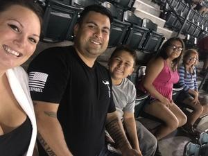 Miguel attended Arizona Diamondbacks vs. Los Angeles Dodgers - MLB on Aug 8th 2017 via VetTix