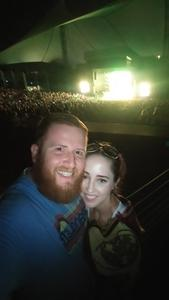 Gilbert attended Brad Paisley With Special Guest Dustin Lynch, Chase Bryant, and Lindsay Ell - Lawn Seats on Jun 17th 2017 via VetTix