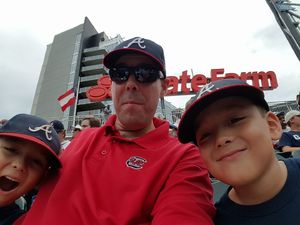 Kit attended Atlanta Braves vs. Milwaukee Brewers - MLB - Nick Markakis Row! on Jun 25th 2017 via VetTix