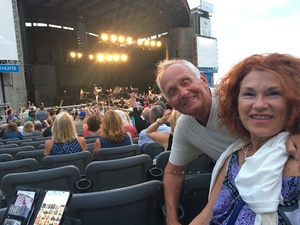 Arnold attended The Moody Blues: Days of Future Passed - 50th Anniversary Tour on Jul 12th 2017 via VetTix