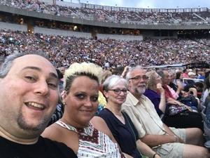 LANCE attended The Moody Blues: Days of Future Passed - 50th Anniversary Tour on Jul 12th 2017 via VetTix