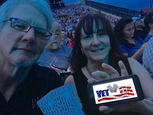 CindyEW attended The Moody Blues: Days of Future Passed - 50th Anniversary Tour on Jul 12th 2017 via VetTix