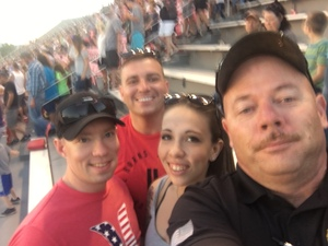 Greg attended Nitro World Games on Jun 24th 2017 via VetTix