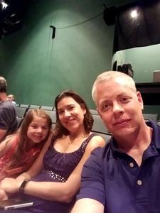 Jeffrey attended James and the Giant Peach Jr. - Evening on Jun 24th 2017 via VetTix