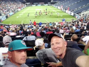 Eric attended Atlanta Steam vs. Los Angeles Temptation - Legends Football League - Women of the Gridiron on Aug 5th 2017 via VetTix