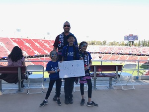Fred attended San Jose Earthquakes vs. LA Galaxy - MLS - Salute to the Military - Giveaways & Fireworks! on Jul 1st 2017 via VetTix