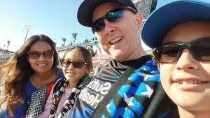 Mark attended San Jose Earthquakes vs. LA Galaxy - MLS - Salute to the Military - Giveaways & Fireworks! on Jul 1st 2017 via VetTix