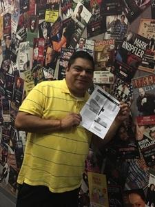 Pedro attended Goo Goo Dolls: Long Way Home Tour With Phillip Phillips on Jul 16th 2017 via VetTix