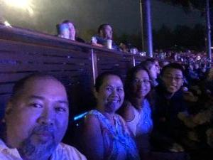 evan attended United We Rock Tour 2017 - Styx and Reo Speedwagon With Don Felder - Lawn Seats on Aug 11th 2017 via VetTix