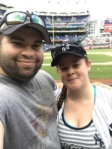 Matt attended New York Yankees vs. Texas Rangers - MLB - Premium Seating on Jun 25th 2017 via VetTix