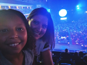 Angelique attended Shawn Mendes - Illuminate World Tour With Special Guest Charlie Puth on Jul 15th 2017 via VetTix
