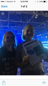 Jerry attended Shawn Mendes - Illuminate World Tour With Special Guest Charlie Puth on Jul 15th 2017 via VetTix