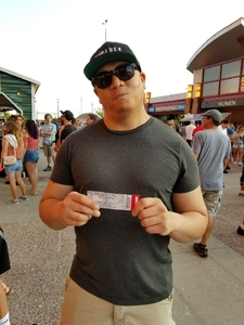 Michael attended 8 Tour - Incubus With Special Guests Jimmy Eat World on Jul 19th 2017 via VetTix