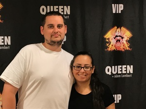 William attended Queen + Adam Lambert Live at the Pepsi Center on Jul 6th 2017 via VetTix