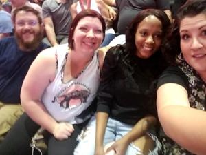 Christopher attended Queen + Adam Lambert Live at the Pepsi Center on Jul 6th 2017 via VetTix