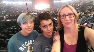 Bernadette attended Queen + Adam Lambert Live at the Pepsi Center on Jul 6th 2017 via VetTix
