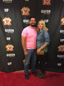 jonathan attended Queen + Adam Lambert Live at the Pepsi Center on Jul 6th 2017 via VetTix