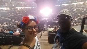 Floyd attended Queen + Adam Lambert Live at the Pepsi Center on Jul 6th 2017 via VetTix