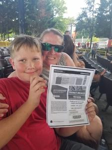 Steven attended 8 Tour - Incubus With Special Guests Jimmy Eat World and Judah and the Lion - Reserved Seats on Jul 12th 2017 via VetTix